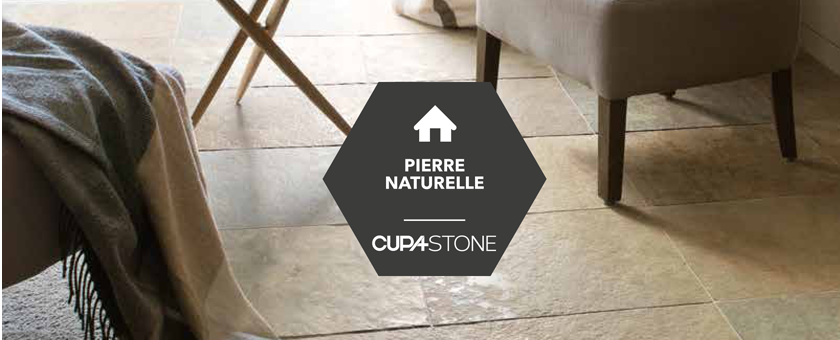 Collection cupa stone de dalles en pierre naturelle pour l for Dalle de pierre pour interieur